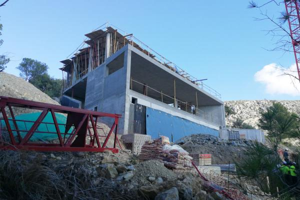House in Bonaire 1: Work has progressed at a good rhythm