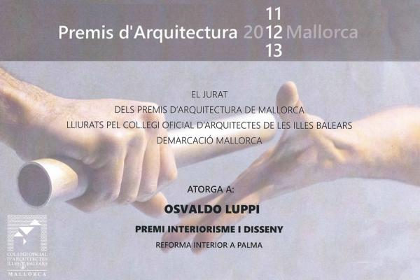 Majorca Architecture Awards 2011 - 2013